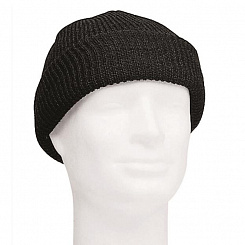 Шапка Mil-Tec «US WOOL WATCH CAP» Black